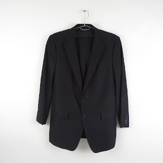 Dolce & Gabbana Black Two Button Fitted  Two Piece Suit