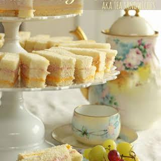 Ribbon Finger Sandwiches (AKA Tea Sandwiches).