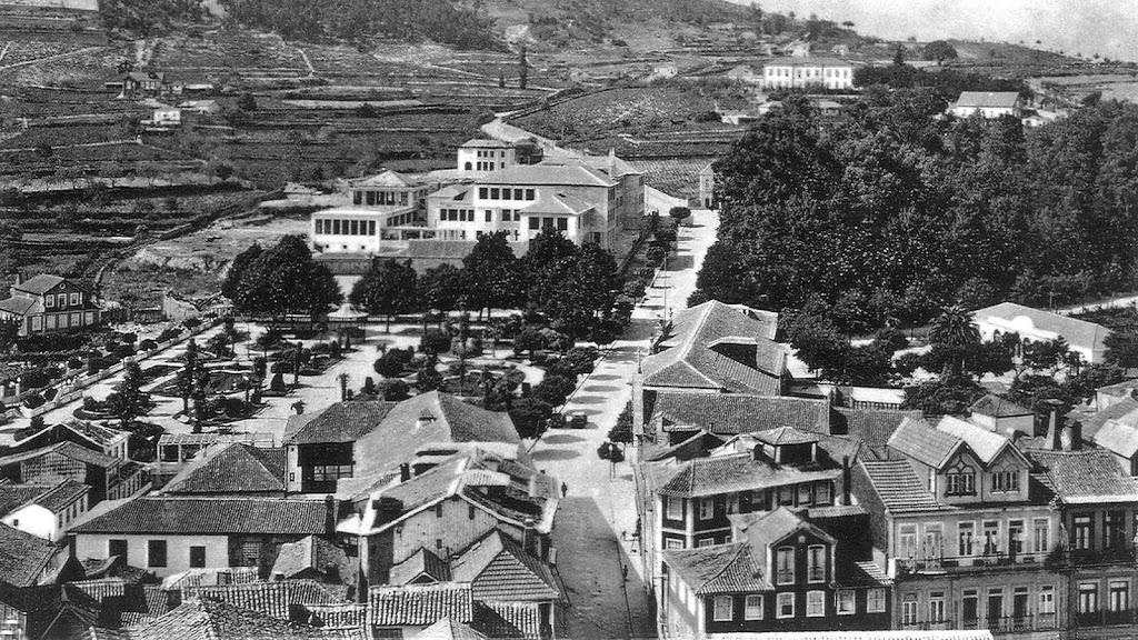 Jardim da República, Liceu e Alameda