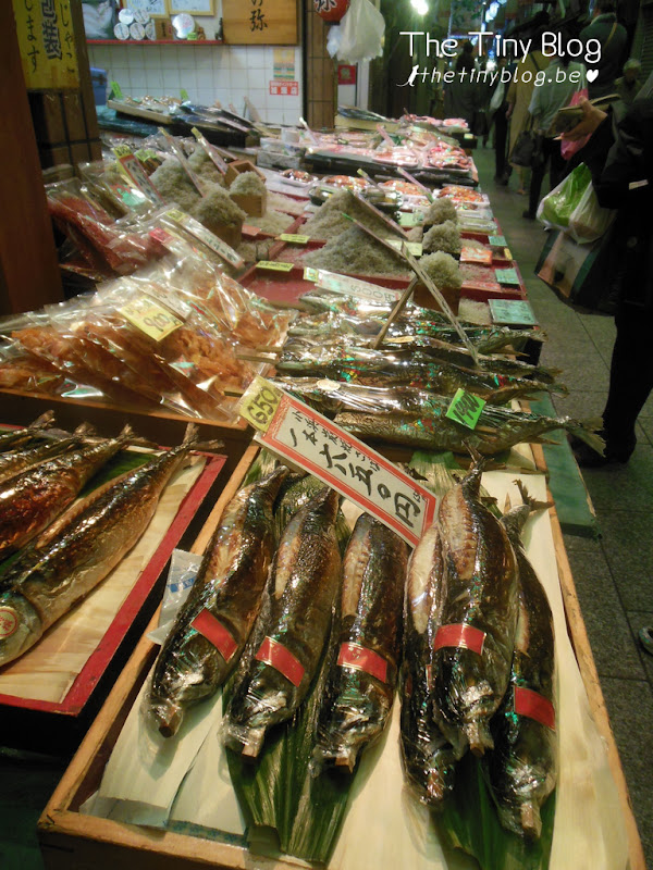 Nishiki Market Kyoto October 2015