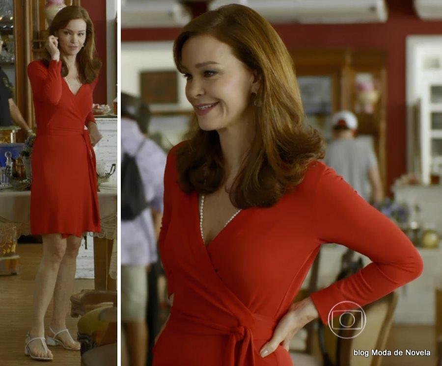 moda da novela Em Família - look da Helena dia 21 de junho
