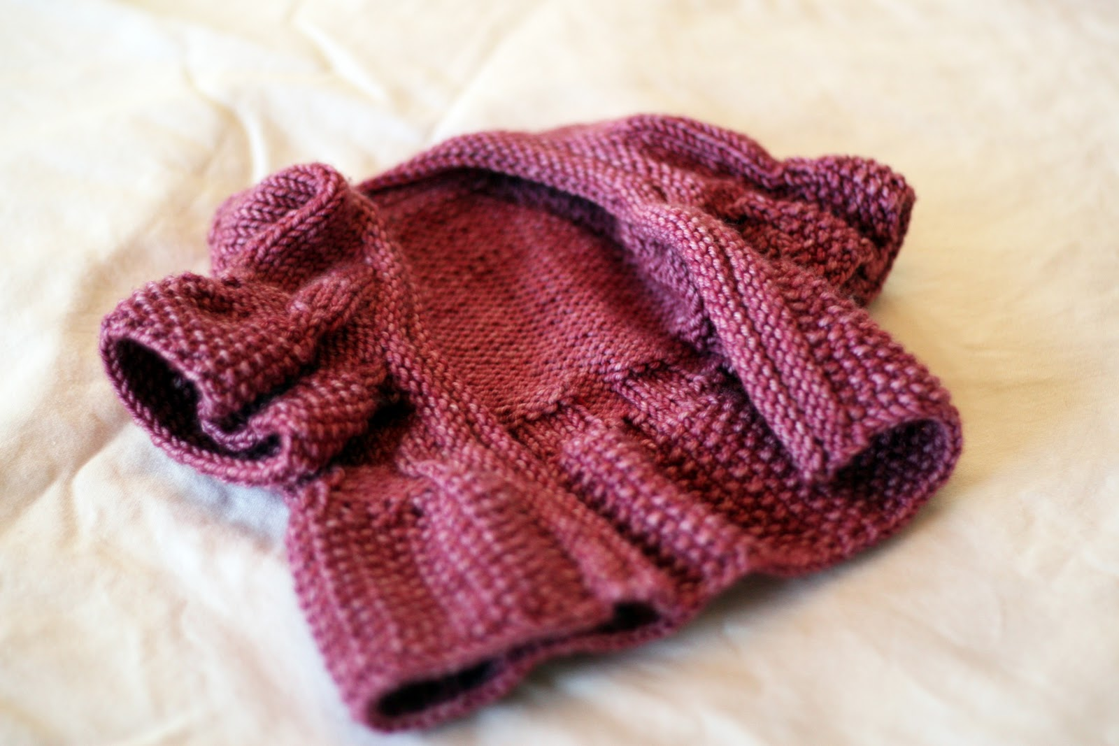 baby sweater | Learn-to-Knit with Katie