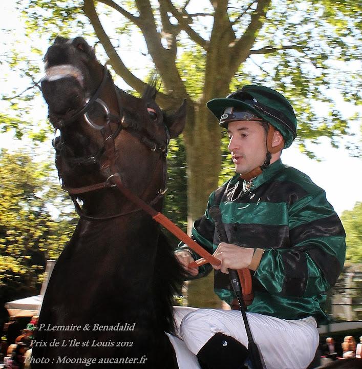 Jockeys' attitudes Benadalid