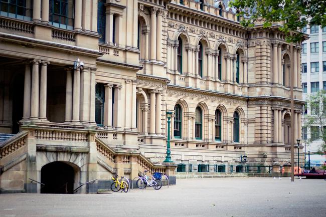 St. Andrew's Square, Sydney, Australia | Lavender & Twill