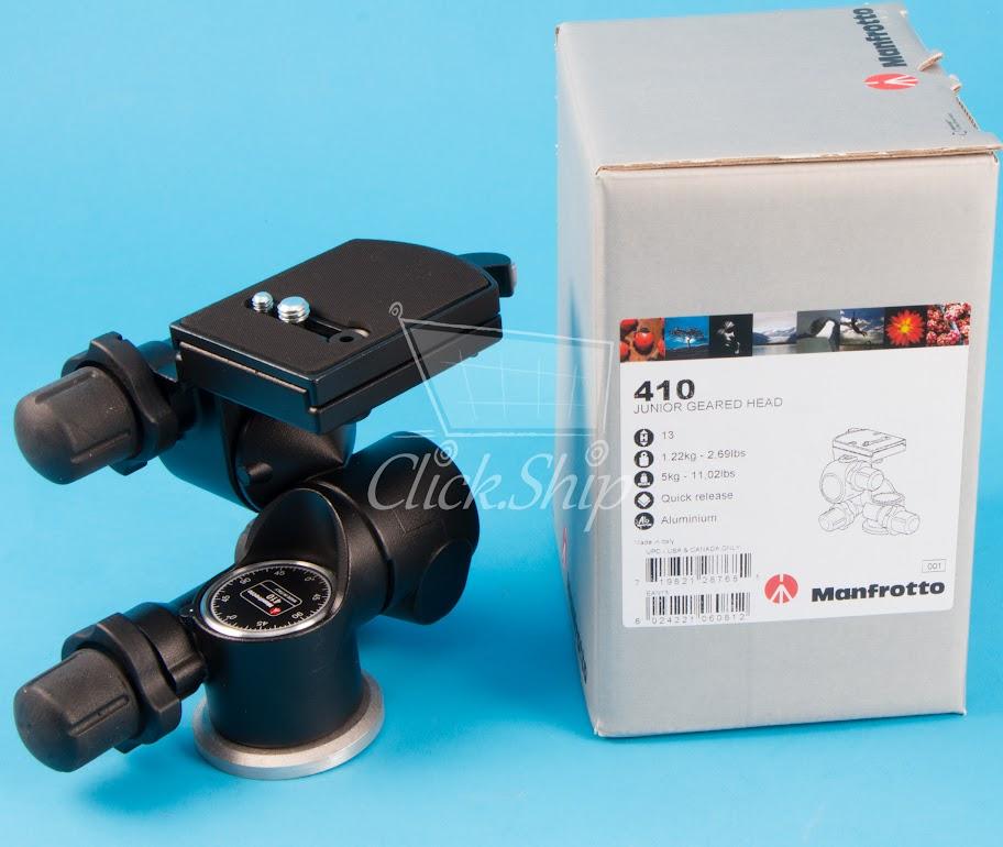 manfrotto 410 junior geared head manual