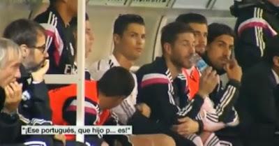 Cristiano Ronaldo insultado durante o Eibar - Real Madrid