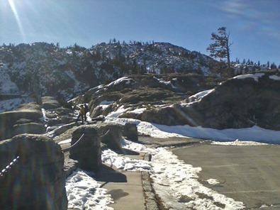 Snow near Donner Summit