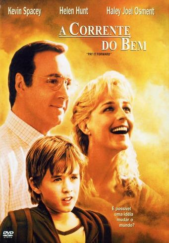 A Corrente do Bem - Capa DVD nacional