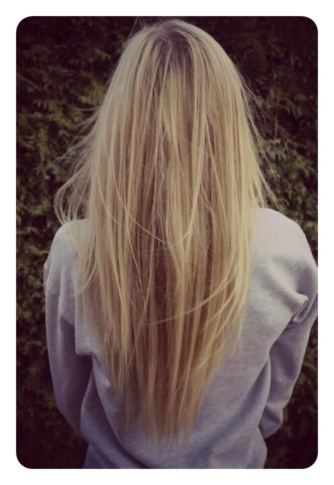 85 Trendy V Cut And U Cut Hairstyles For This Season Nails C