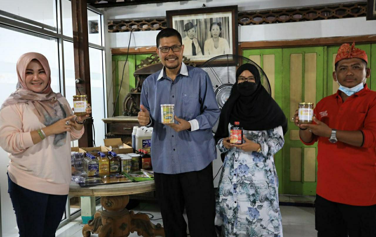 Bupati Tinjau Pabrik Gula Cair PT. Gula Energi Nusantara di Malangjiwan Klaten