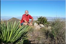 Santa Cruz mendiaren gailurra 435 m. --  2015eko azaroaren 6an