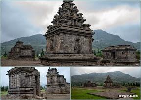 Świątynie hinduistyczne, Dieng Plateau