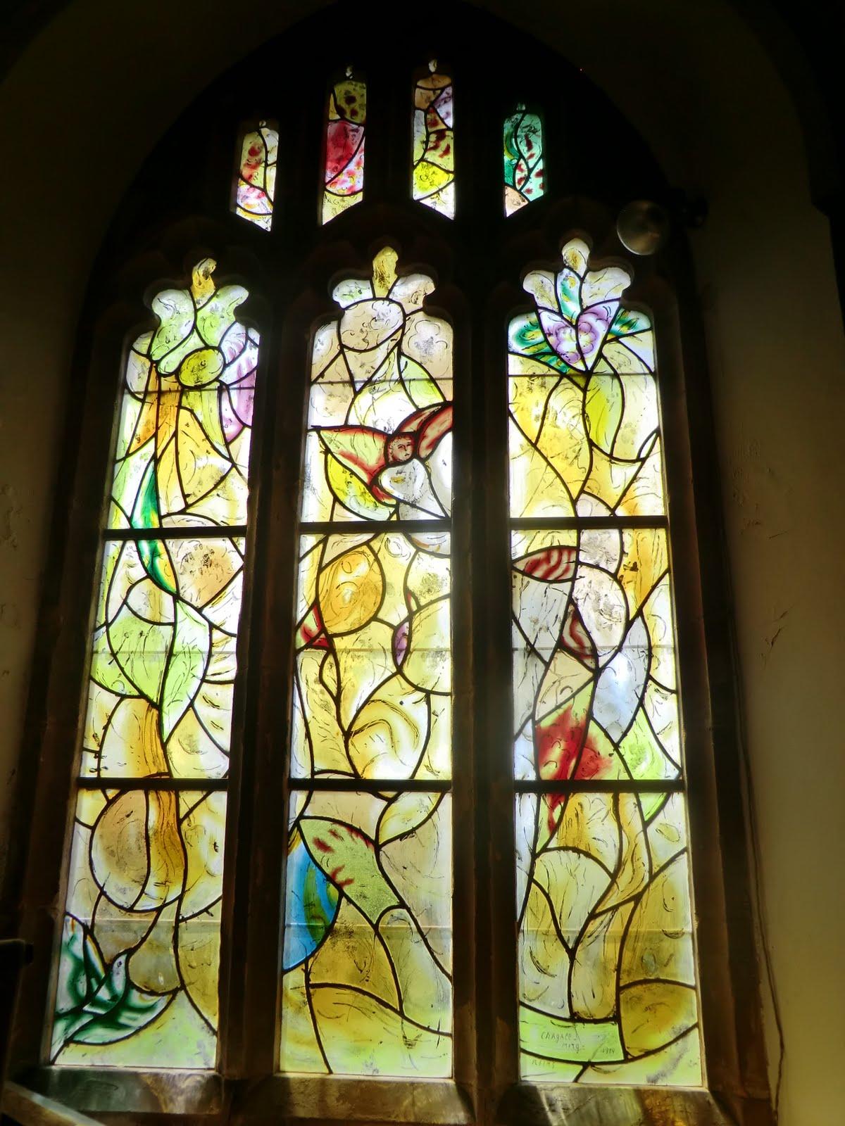 CIMG1557 Chagall window #11, All Saints church