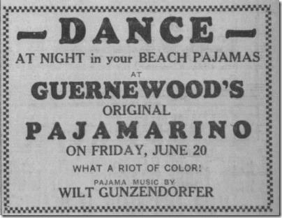 Pajama Music Wilt Press Democrat Santa Rosa 6_20_1930 Page 13