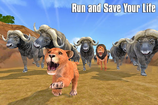 The Lion Simulator: Animal Family Game 1.0 screenshots 2