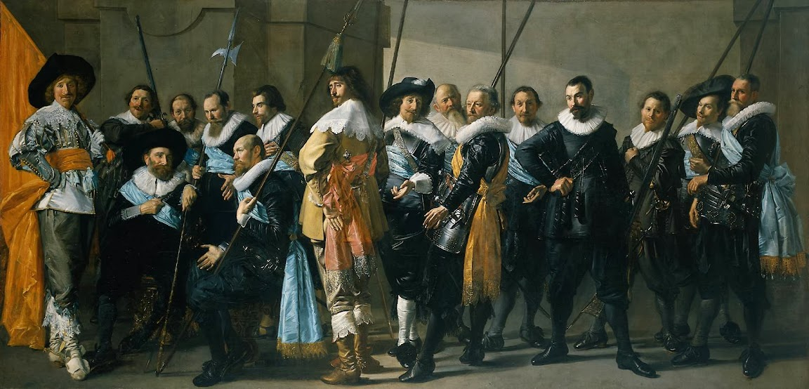 Frans Hals - Company of Captain Reinier Reael, known as the 'Meagre Company'
