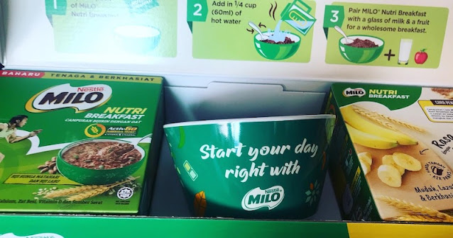 MULAKAN SARAPAN PAGI NIKMATI MILO NUTRI BREAKFAST