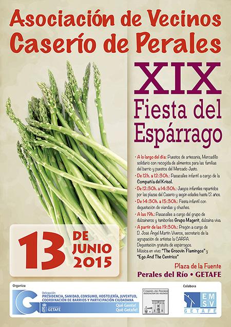 Fiesta del Espárrago en Perales del Río, sábado 13 de junio 2015
