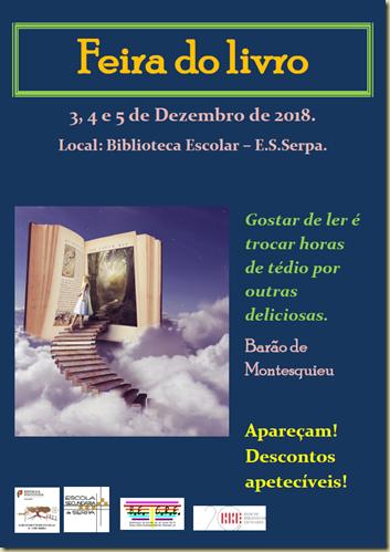 feira do livro cartaz png