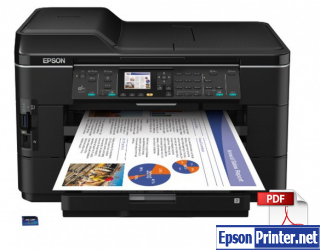 How to reset Epson WorkForce WF-7012 by program