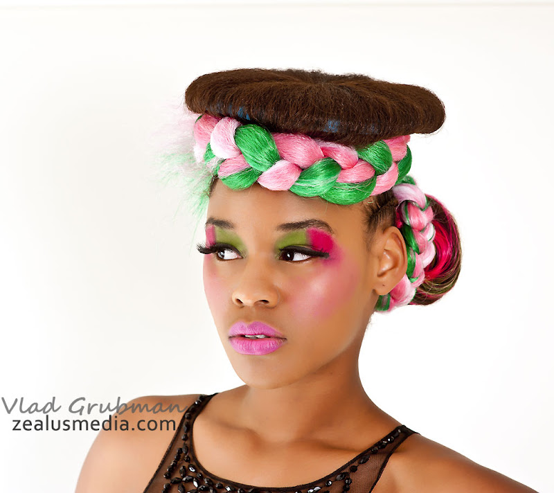Hair by Mimi show - Photography by Vlad Grubman and ZealusMedia.com