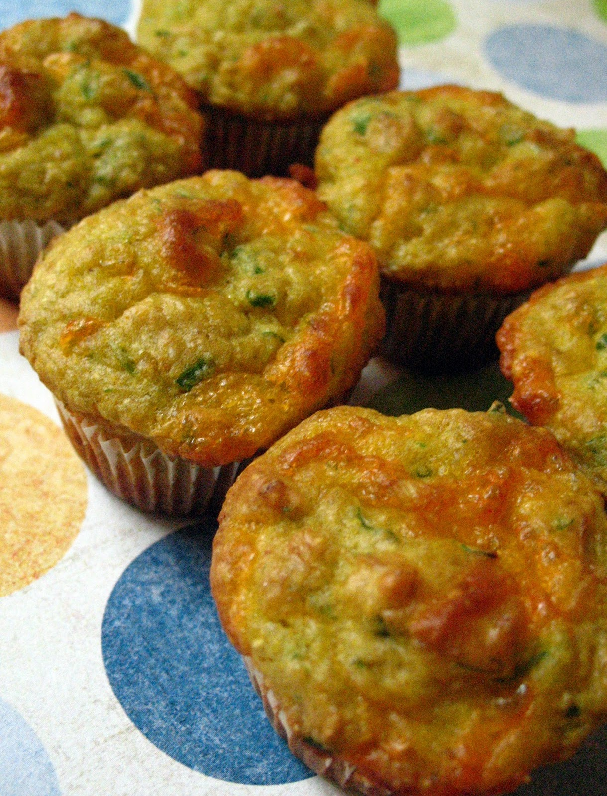 Munch: Savory Corn and Cheese Mini Muffins