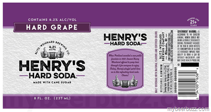 Image result for Henry's hard soda grape