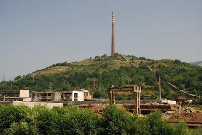 Demontierte Kupferhütte von Zlatna