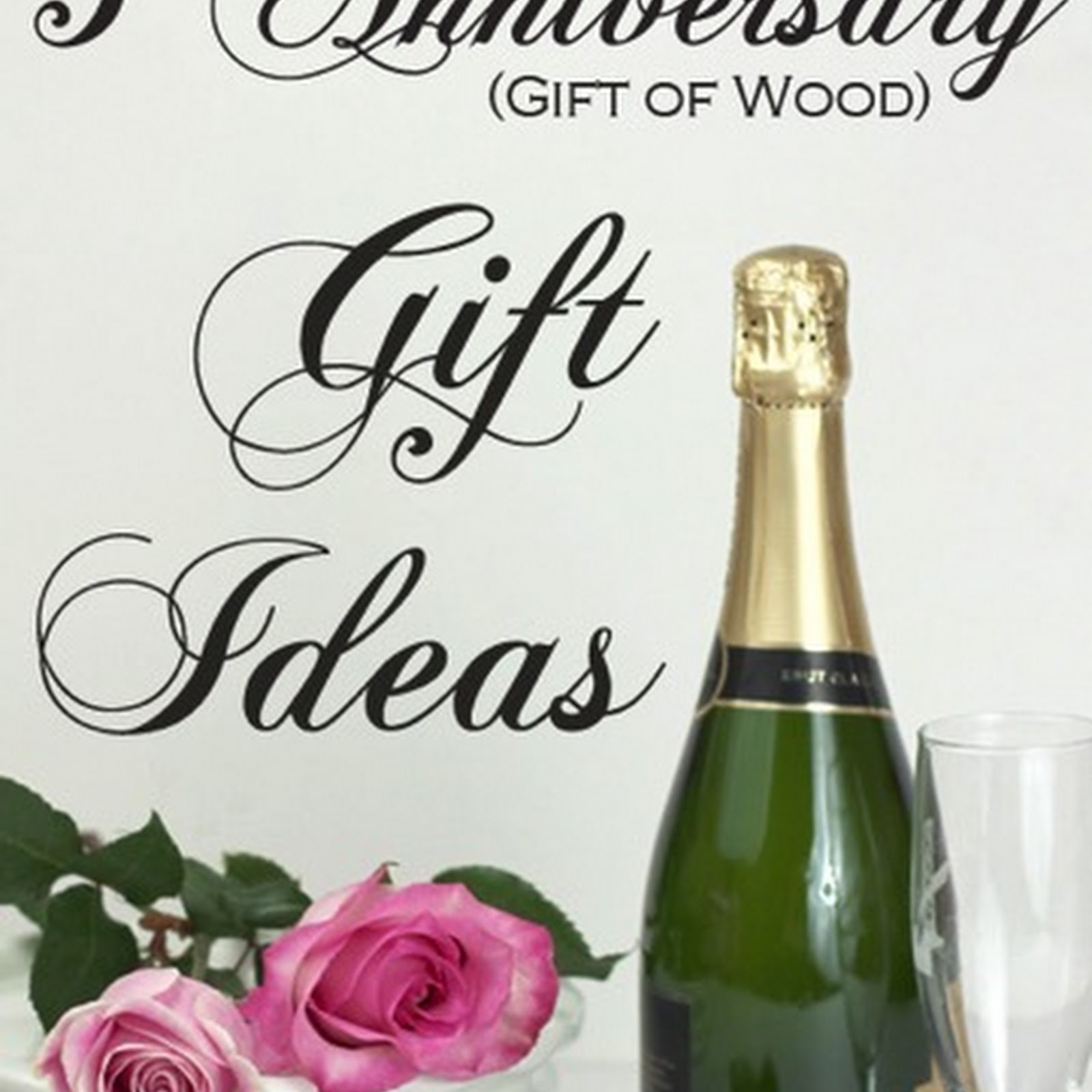 5th Anniversary (Gift of Wood) Gift Ideas