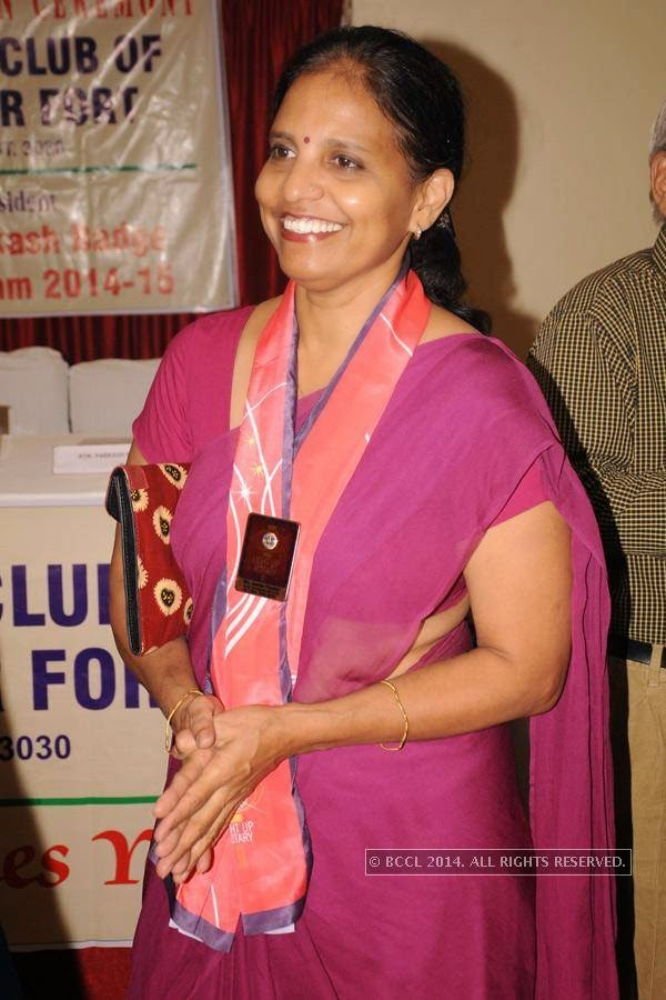 Dr Asmita Thaokar during Rotary Club Fort's installation ceremony, held at Heritage Hotel, in Nagpur.
