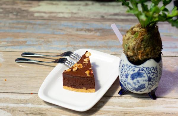 ASOW Eatery Hazelnut Chocolate Torte