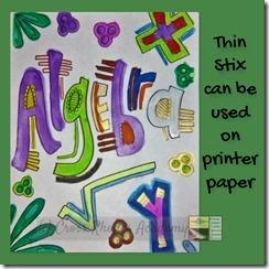 Thin Stix-printer paper