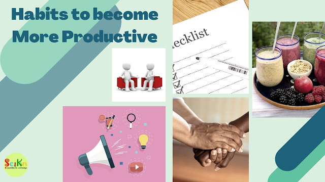 habits to become more productive