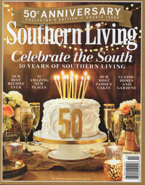 Southern Living Magazine | Golden Anniversary
