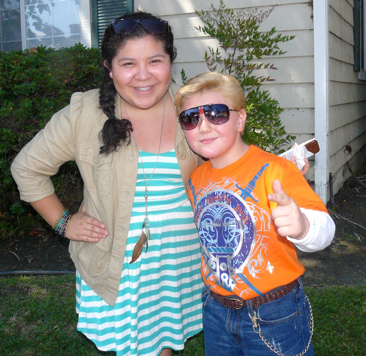 Zachary Alexander Rice and Raini Rodriguez