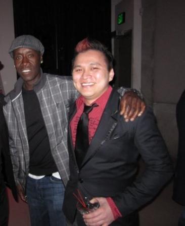 Jt Tran Pua And Don Cheadle, Asian Playboy