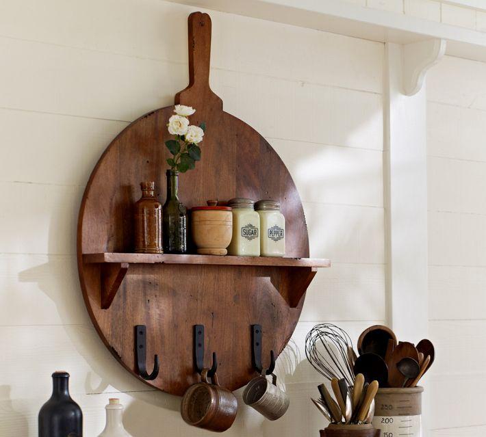 Cuisine Board Shelves Hooks Pottery Barn