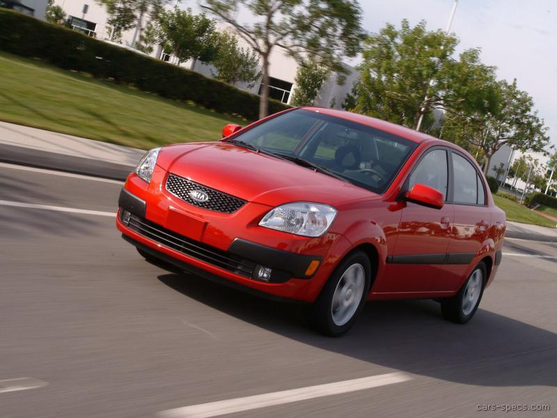 2007 kia rio sedan specifications pictures prices. Black Bedroom Furniture Sets. Home Design Ideas