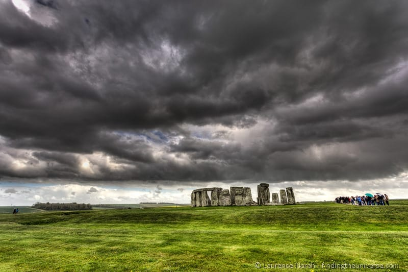 Stonehenge clouds day trip from London