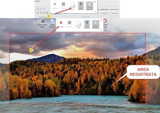 powerpoint-registrazione-schermo