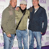 WWW.ENTSIMAGES.COM -     East 17 Band Robbie Craig, John Hendy and Terry Coldwell     arriving at      The MediaSkin Gifting Lounge at Stamp 79 Oxford Street London November 6th 2014                                                 Photo Mobis Photos/OIC 0203 174 1069