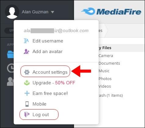Abrir mi cuenta Mediafire - 646