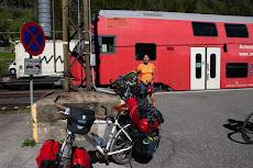Tauern tunnel train from Bad Gastein to Mallnitz