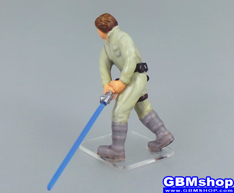 star wars miniature Imperial Assault Luke Skywalker of Dagobah #08 Bounty Hunters Star Wars Miniatures custom Customize and Painting