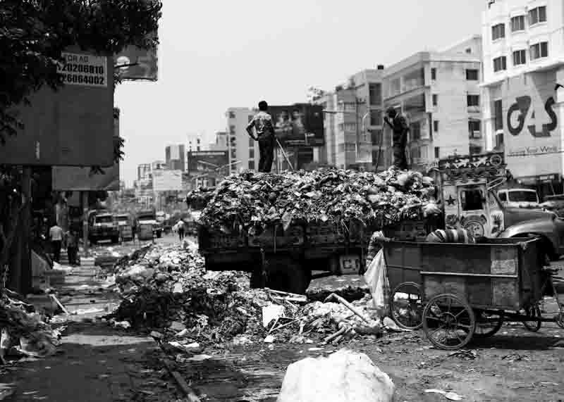 Waste Dhaka