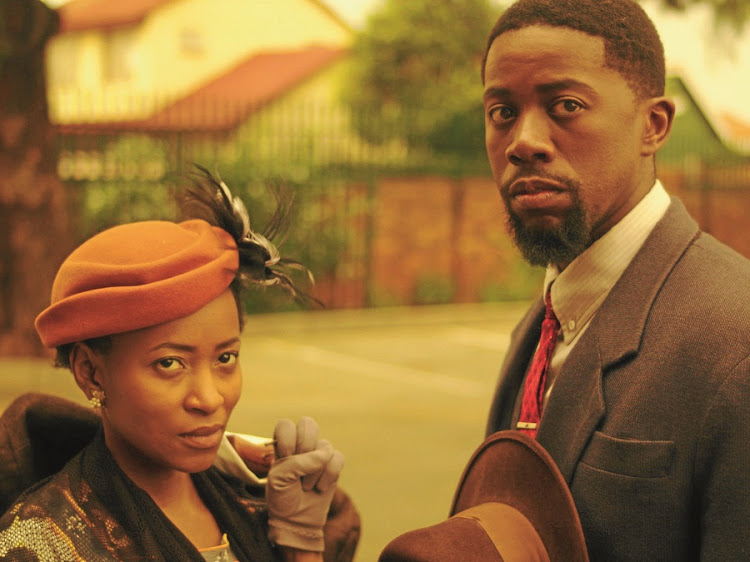 The Suit. Atandwa Kani and Phuti Nakene star. Picture: BLAQSMITH