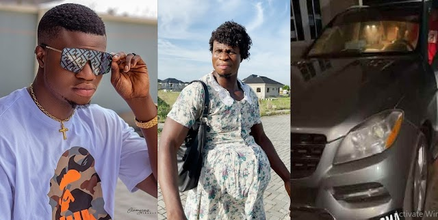 """""""It's Painful How Nigerians Take Every Rich Person As Yahoo Boy""""— Comedian, Zicsaloma Cries Out after Buying Benz"""