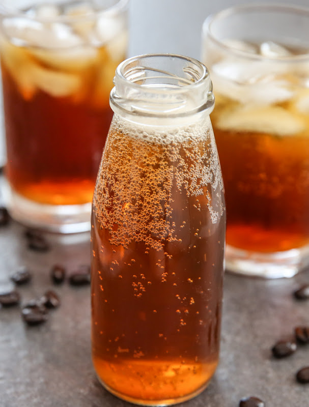 photo of a small jug of Coffee Soda