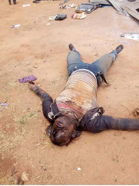 Farmers & Fulani Herdsmen Clash In Kogi, Many Killed (Viewers' Discretion Advised!!)  IMG_20180316_115843_593