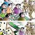 मड़ावरा पुलिस ने दलपतपुर से पकड़े तीन जुआरी